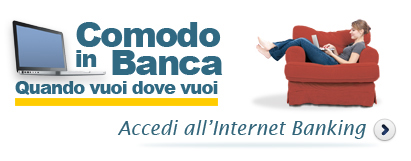 Accedi all'internet Banking